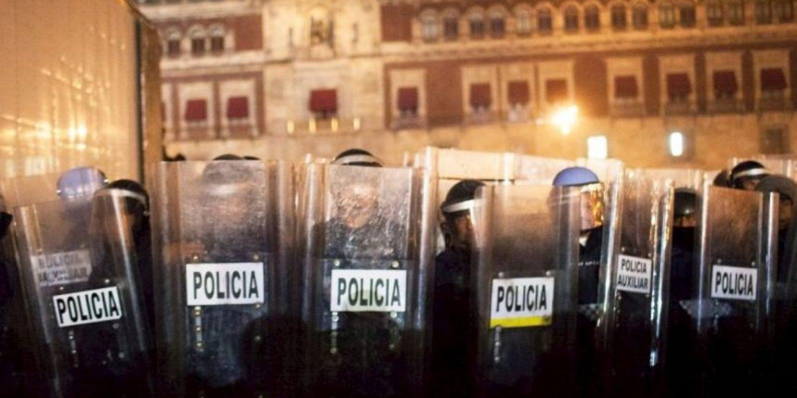 10. En la casilla 95 se encuentra la policía de México, con 35 puntos Foto:Getty Images