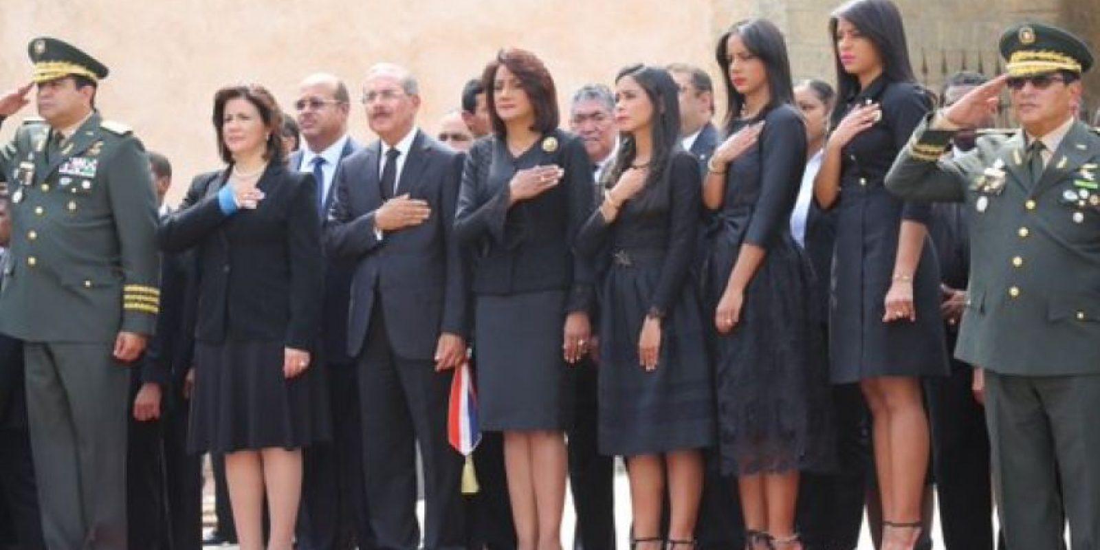 Honores militares en el Altar de la Patria Foto:@PresidenciaRD