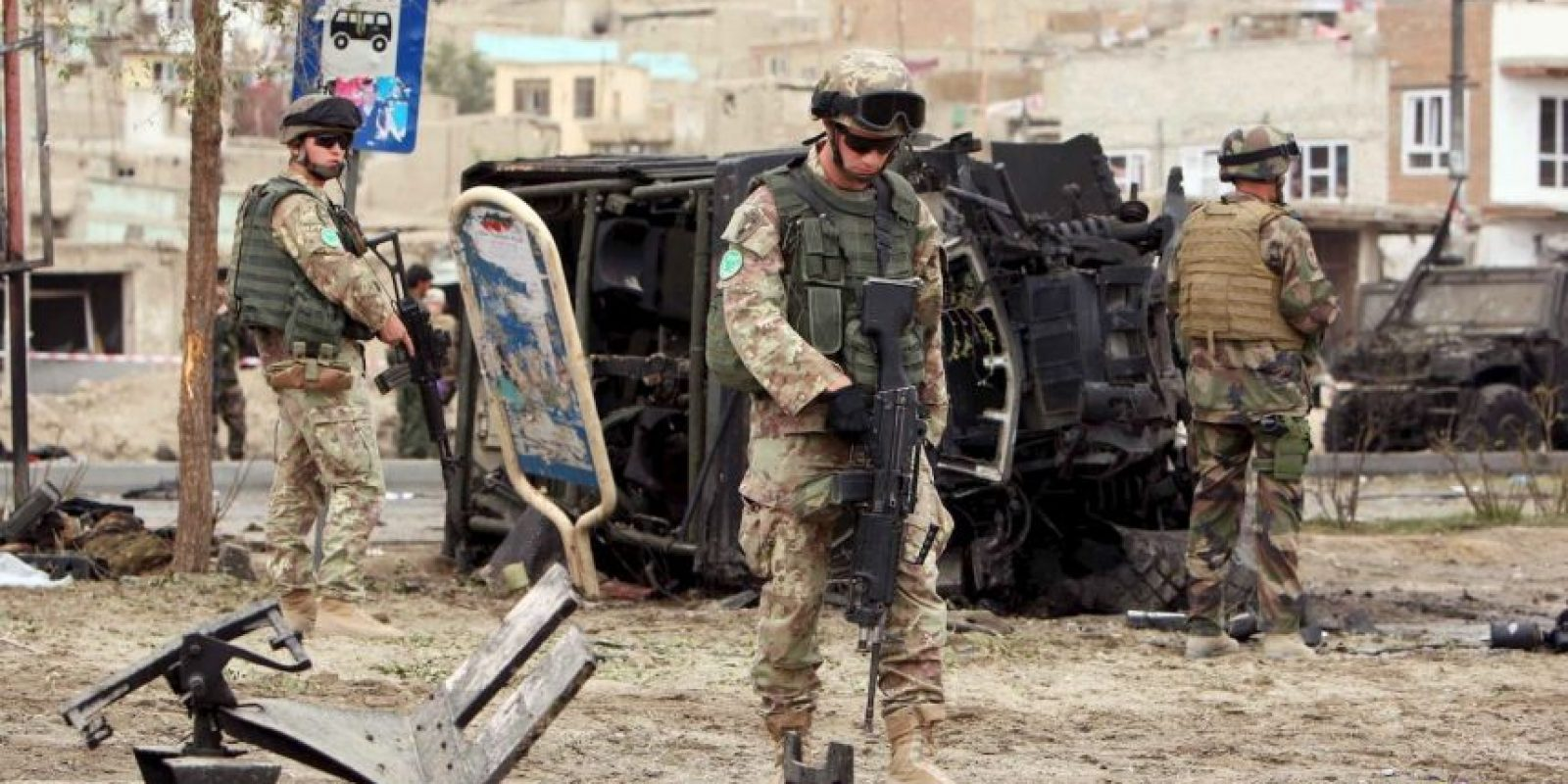 El atentado iba dirigido contra Haji Khan Jan. Foto:Getty Images
