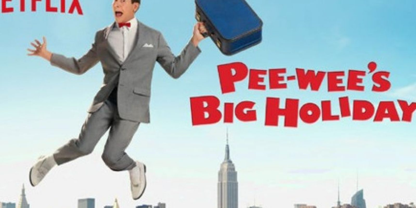 """Pee-Wee's Big Holiday"" – Disponible a partir del 18 de marzo."