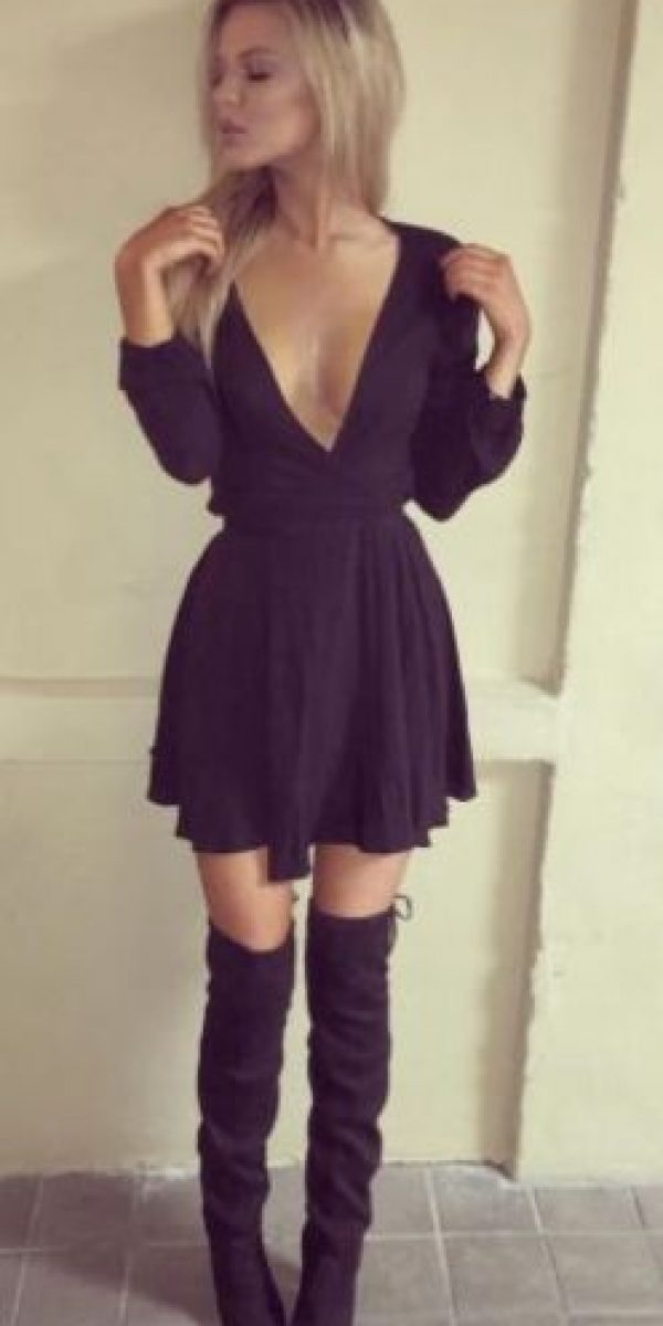 Es una modelo estadounidense Foto:Vía instagram.com/alyssanelsonmn
