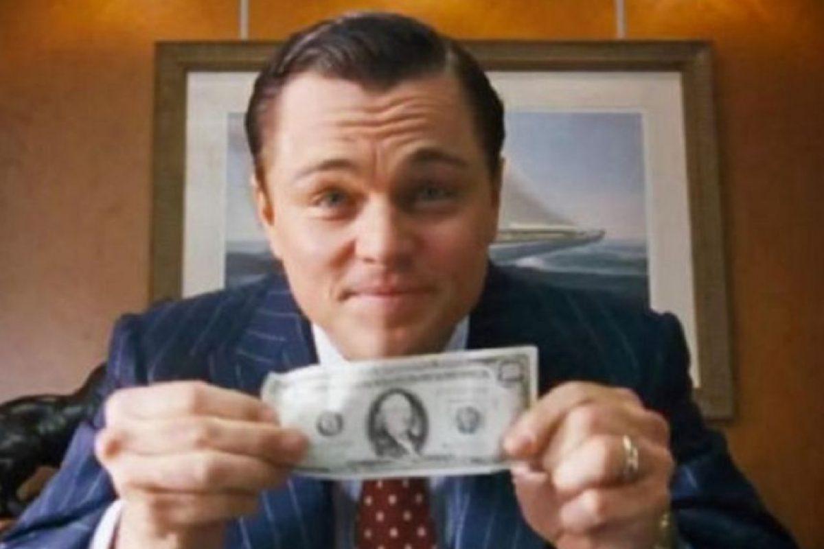 """4. """"El lobo del Wall Street"""" Foto:Vía Tumblr"""