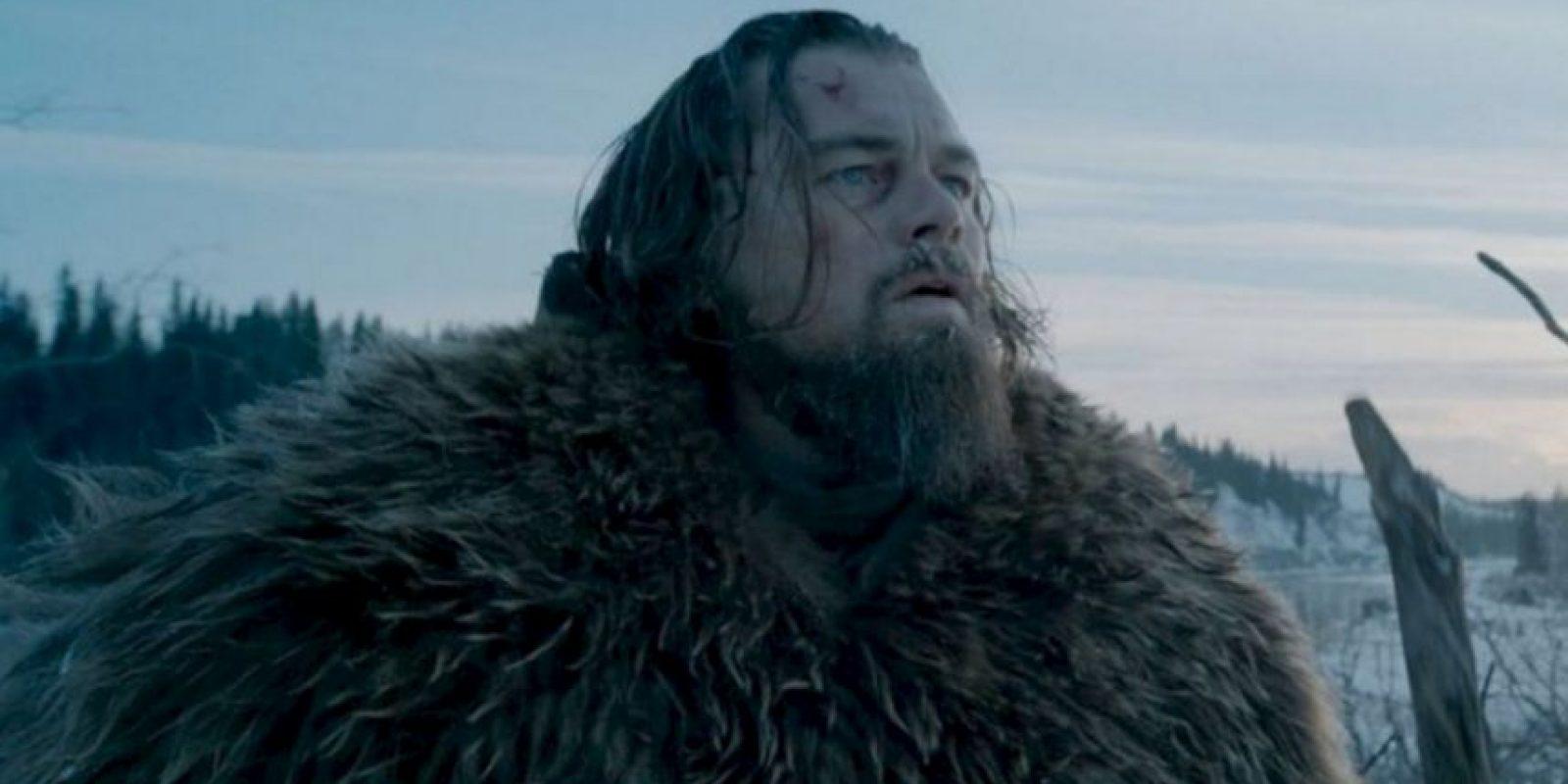"""2015, """"El Renacido"""". ¿Será esta la ocasión en la que DiCaprio gane la estatuilla de la academia? Foto:Vía IMDB"""