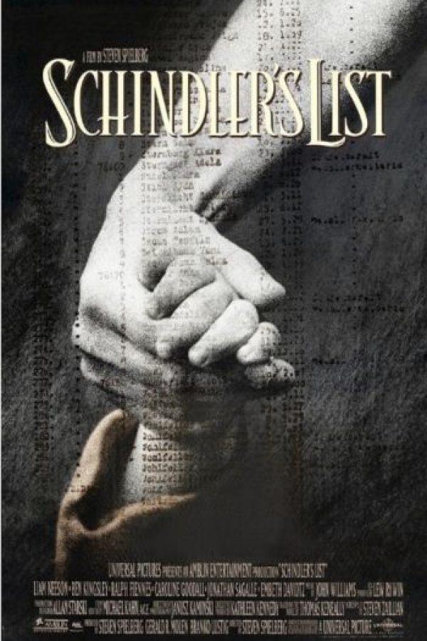 """La lista de Schindler"" Foto:IMDB"