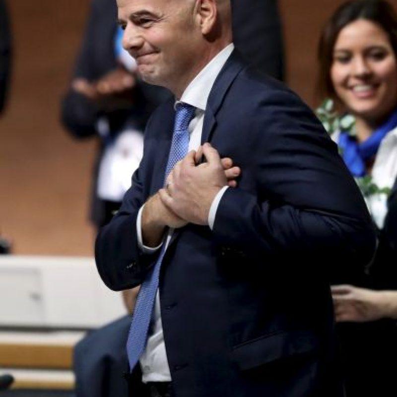 Su sucesor es Gianni Infantino Foto:Getty Images