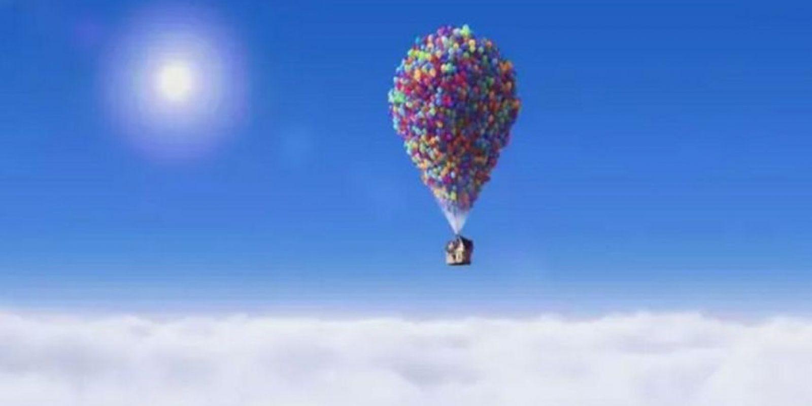"""""""Up"""", titulada """"Up: una aventura de altura"""" en hispanoamérica, es una película de animación y aventuras estrenada en 2009 y ganadora de dos premios Óscar por mejor película de animación y mejor banda sonora. Foto:Disney Pixar"""