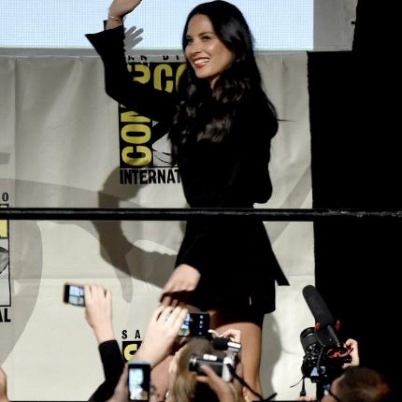"""Su papel en """"X-Men: Apocalypse"""" es el de la asesina """"Psylocke"""" Foto:Getty Images"""