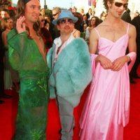 Trey Parker y Matt Stone de South Park se disfrazaron de JLo y Gwyneth Paltrow. Foto:vía Getty Images