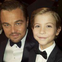 Con Leonardo DiCaprio Foto:vía instagram.com/jacobtremblay