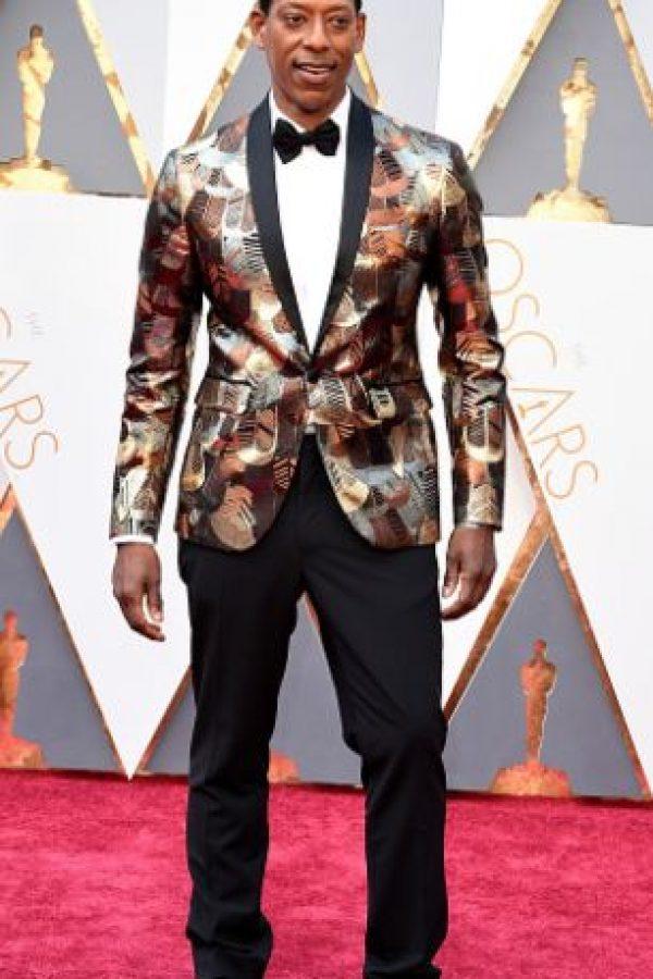 """Orlando Jones es como el Eddie Murphy flaco en """"El profesor chiflado"""", los mismos colores rechinantes y el mismo mal gusto. Foto:vía Getty Images"""