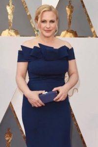 Mejor que el año pasado, pero no un cambio sustancial. Así se ve Patricia Arquette. Foto:vía Getty Images