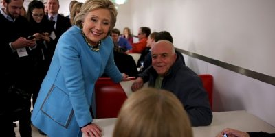 Hillary Clinton. De los tres caucus demócratas realizados, ganó en dos Foto:AFP