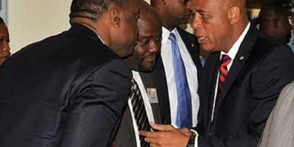 El partido del expresidente Martelly no reconoce al designado primer ministro