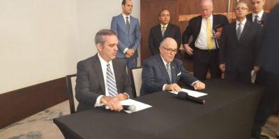 Abinader presenta a Rudolph Giuliani como asesor en seguridad ciudadana