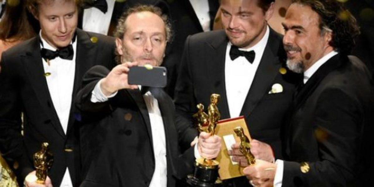 #Oscars: Récord en Twitter con premio a Leonardo DiCaprio