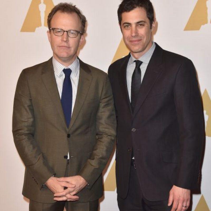 """Mejor guion original – Tom McCarthy y Josh Singer por """"Spotlight"""" Foto:Getty Images"""