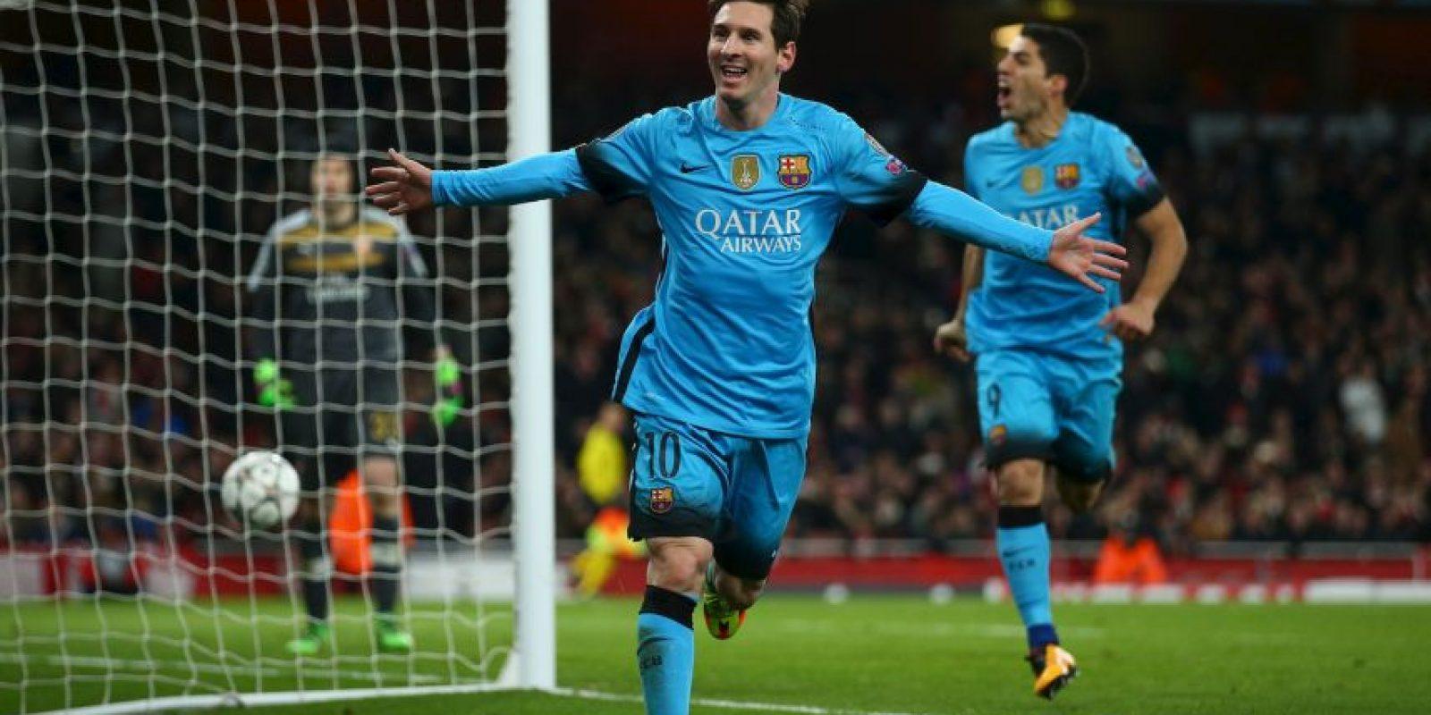 Tiene nueve tantos menos que Luis Suárez Foto:Getty Images