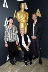 """Mejor maquillaje y peinado – Elka Wardega, Lesley Vanderwalt y Damian Martin por """"Mad Max: Fury Road"""" Foto:Getty Images"""