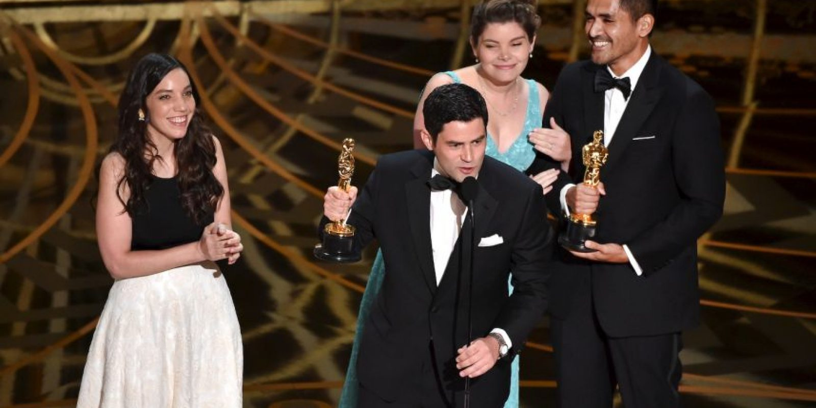"""""""Bear story"""" consiguió el Oscar al """"Mejor Corto Animado"""" Foto:Getty Images"""