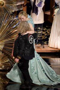 Al parecer ella se sentía muy a gusto Foto:Getty Images