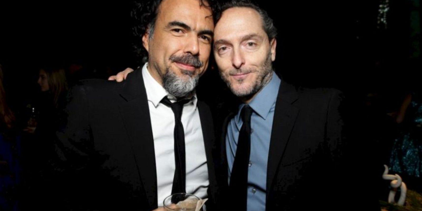 Los ganadores de la noche fueron mexicanos: Alejandro González Iñárritu y Emmanuel Lubezky Foto:Twitter