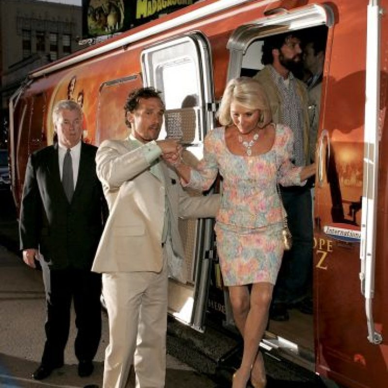 Matthew McConaughey con Mary Kathlene Foto:Getty Images