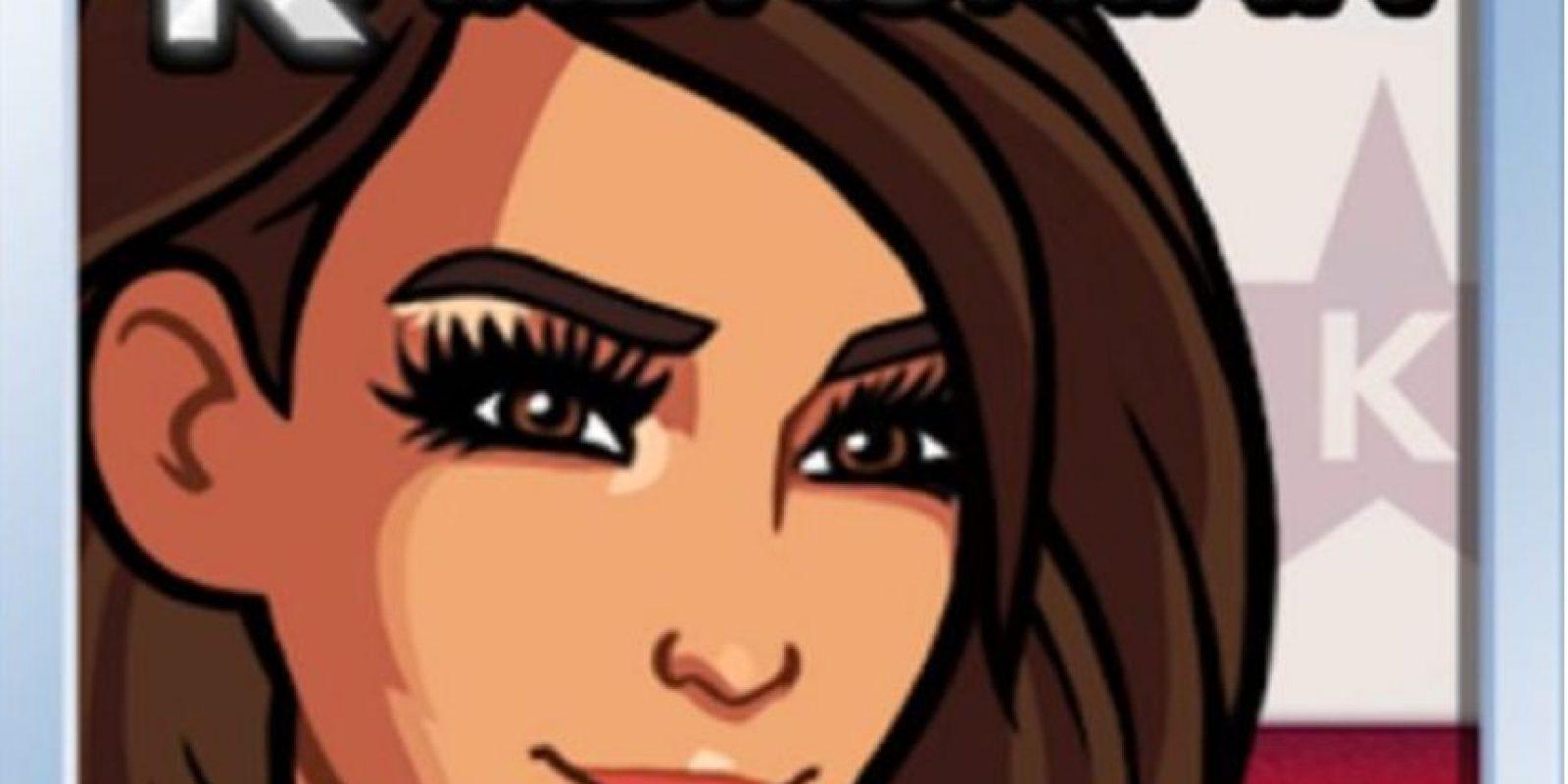 Kim Kardashian: Hollywood: sean modelos de portada, vayan a tiendas exclusivas de moda, formen una pareja con alguna celebridad y conviértanse en la estrella más brillante. Foto:Glu Games Inc.