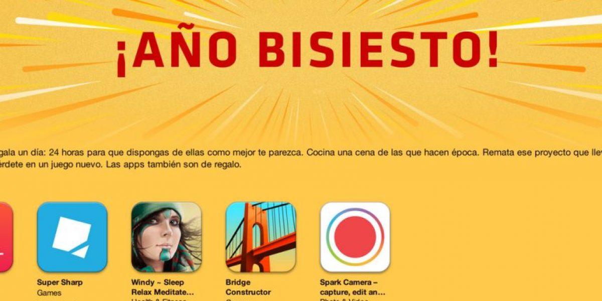Apple festeja el año bisiesto y regala 5 aplicaciones solo por hoy