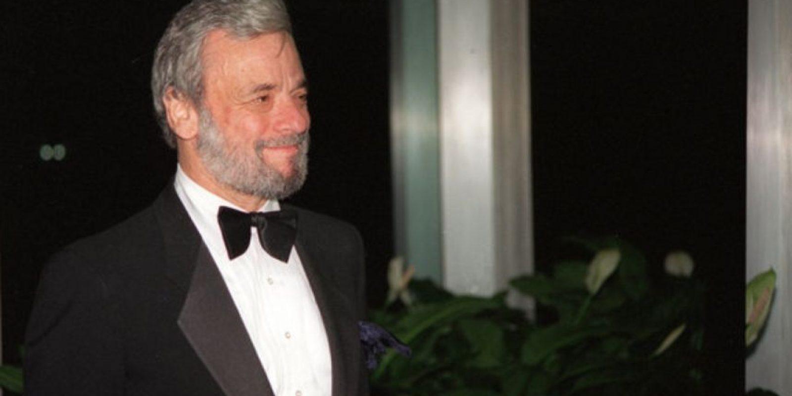 """Stephen Sondheim ganó el Oscar a """"Mejor Canción Original"""" por """"Dick Tracy"""". Foto:vía AP"""