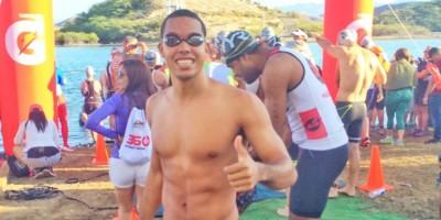 Miguel Portes gana competencia Stono-Tri en tres KM