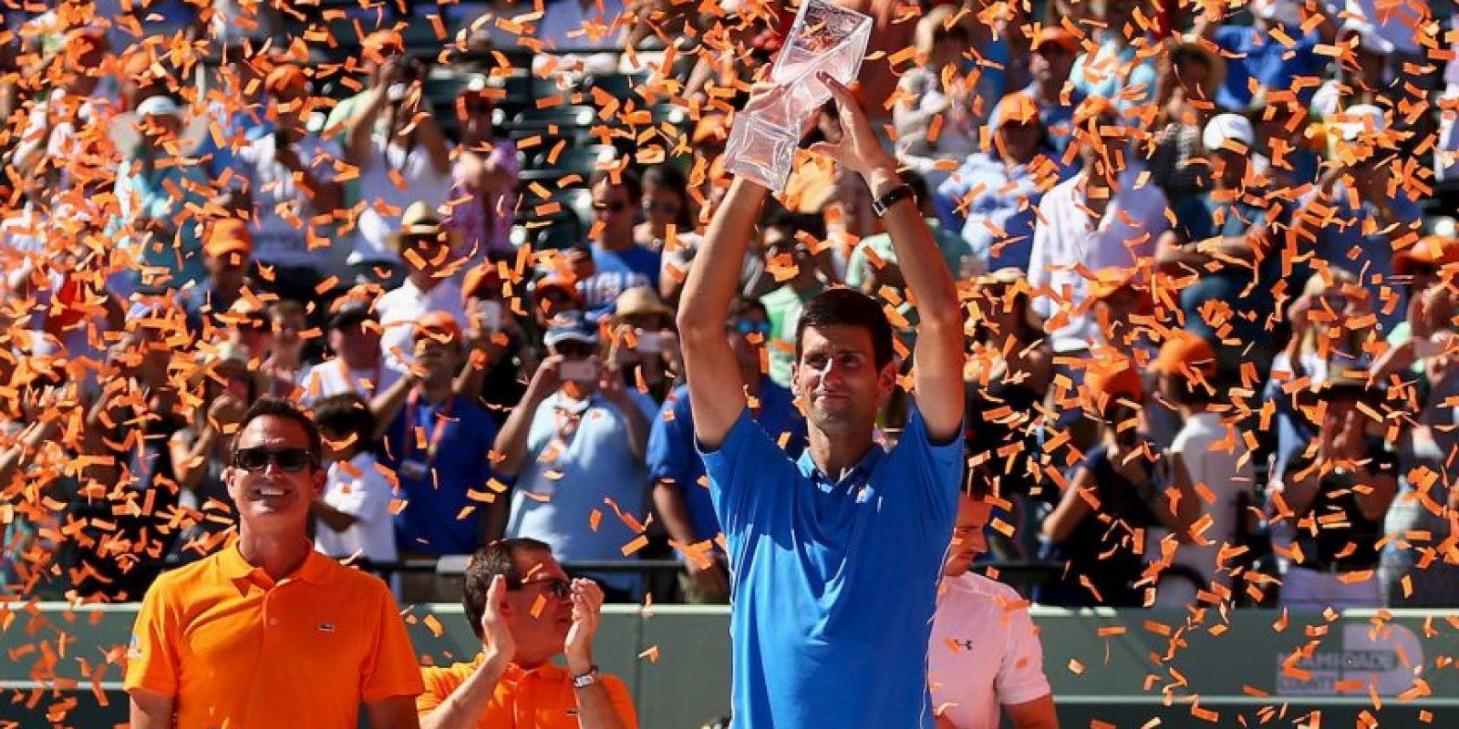 21 de marzo – 3 de abril: Masters de Miami de tenis Foto:Getty Images