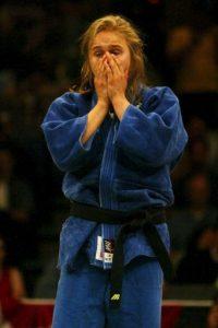 La excampeona de la UFC practicó judo durante su adolescencia. Foto:Getty Images