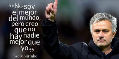 2. Con este juego de palabras en 2012, Mourinho dejó en claro que la autoconfianza estaba al tope. Foto:Getty Images