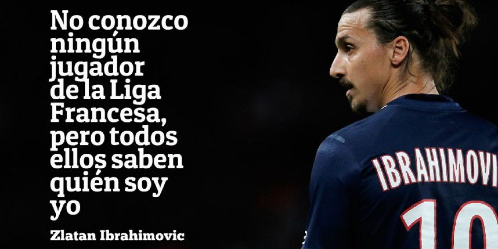 5. Esto dijo Zlatan a su llegada al PSG en 2012. Y tenía razón. Foto:Getty Images