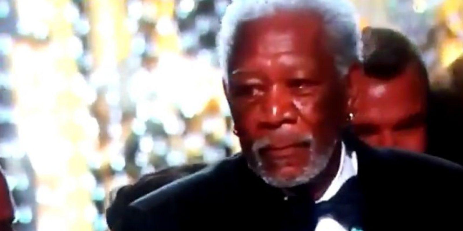 Morgan Freeman Foto:Vía Twitter
