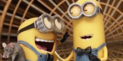 """""""Los Minions"""" presentaron la categoría de """"Mejor cortometraje animado."""" Foto:Vía Vine"""