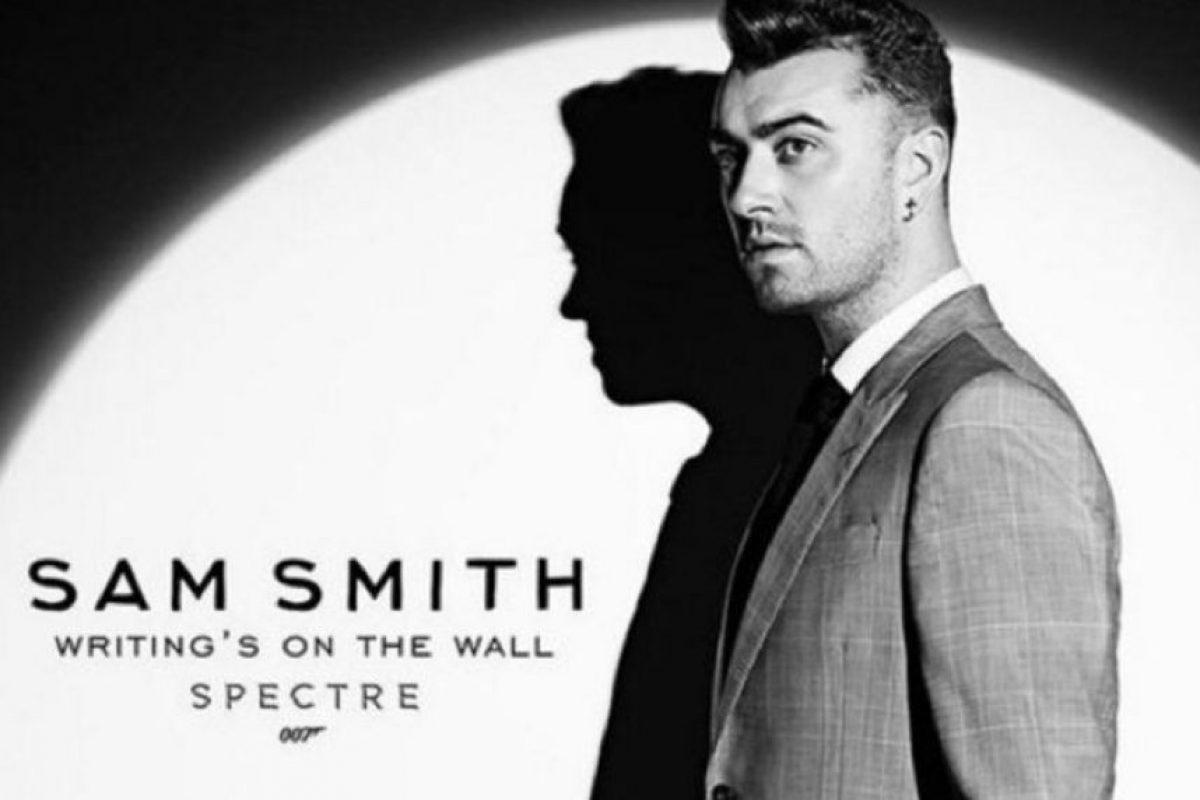 """Sam Smith ganó el Oscar a """"Mejor Canción Original"""". El cantante se dijo orgulloso de ser homosexual y dedicó su reconocimiento a la comunidad LGBT. Foto:Vía Sam Smith"""