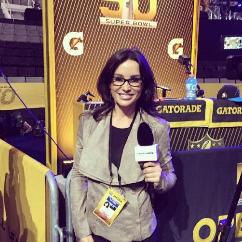 Pero ahora se dedica al periodismo deportivo. Foto:Vía instagram.com/thereallisaann