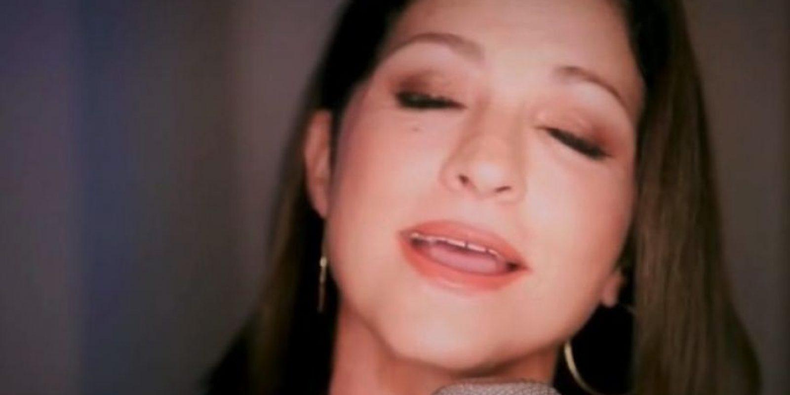 Con una bella canción de Gloria Estefan, se despidió Foto:Vía Twitter/Univision
