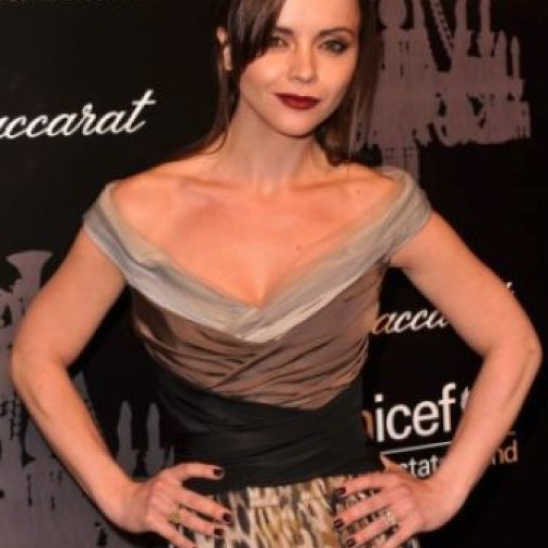 Christina Ricci: a la actriz le aterran las plantas de ornato, aquellas que solo sirven de adorno. Foto:Getty Images