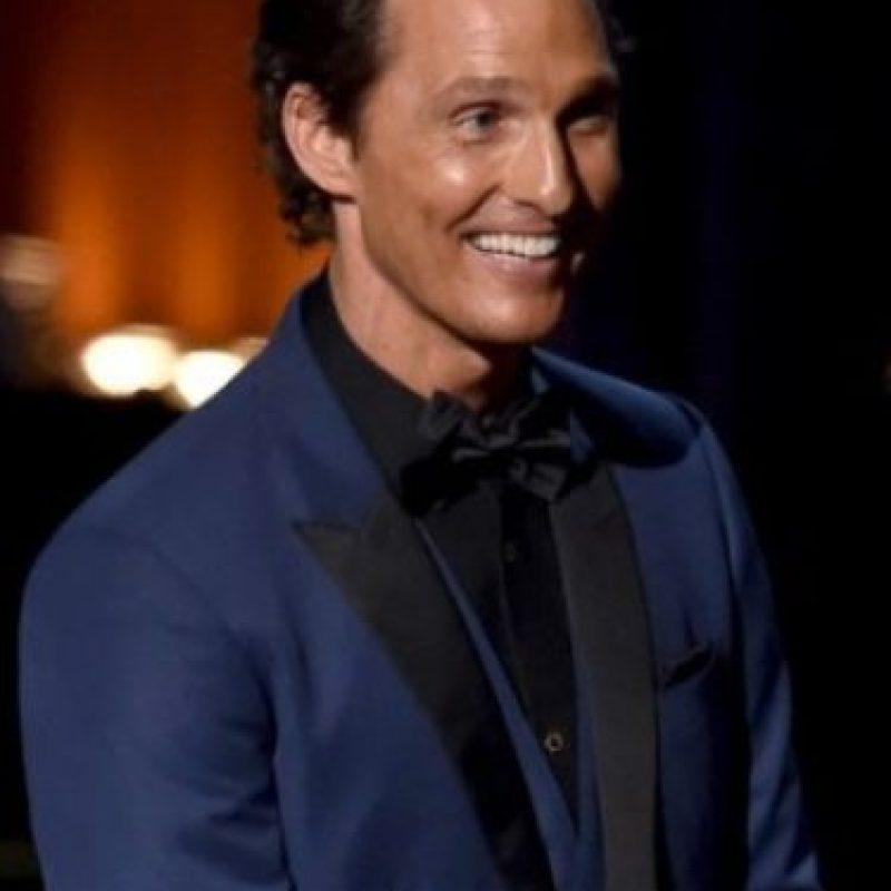 Matthew McConaughey: el actor no puede pasar por una puerta giratoria. Foto:Getty Images