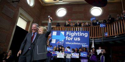 La exprimera dama va a la cabeza de los precandidatos demócratas. Foto:AFP