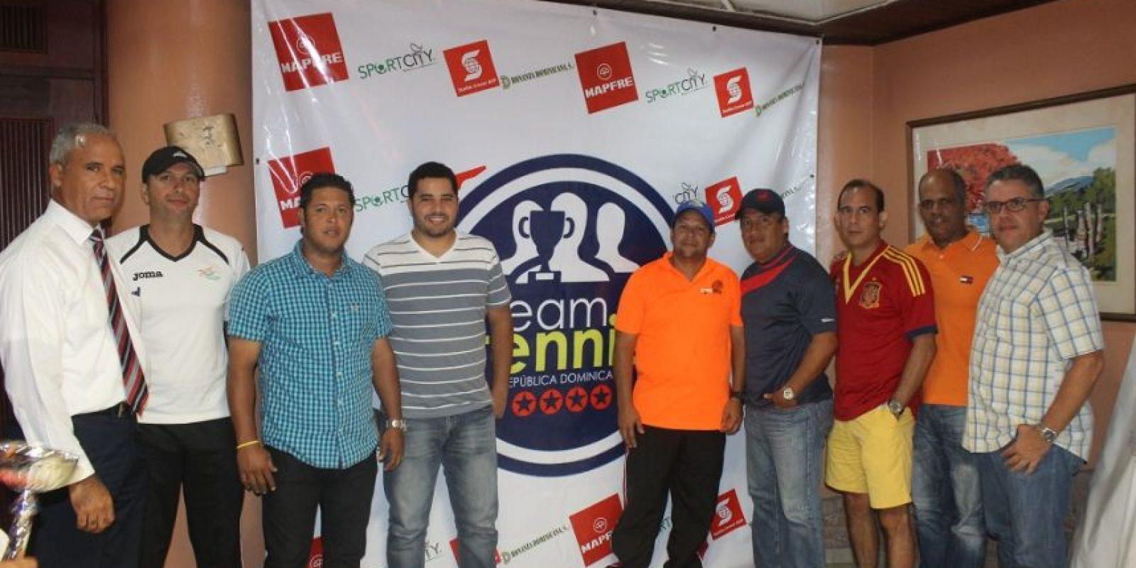 Capitanes de los equipos del Team, Tenis Foto:Fuente Externa