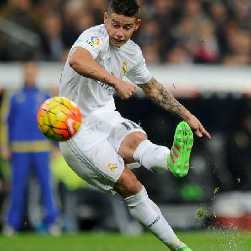 "James solo ha marcado dos goles con ""Zizou"" como timonel Foto:Getty Images"