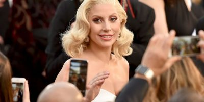 """Lady Gaga interpretó en la gala del Oscar el tema nominado a Mejor Canción Original, """"Til It Happens to You"""" Foto:Getty Images"""