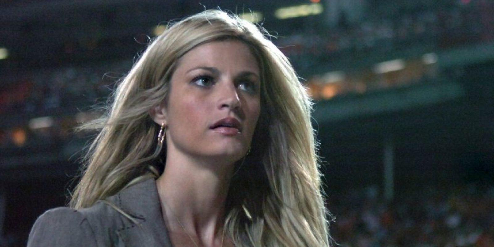 Erin Andrews es una de las periodistas deportivas más conocidas de Estados Unidos. Foto:Getty Images