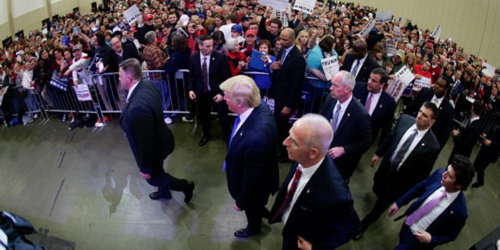 """""""Yo soy un unificador"""", afirmó el magnate. Foto:vía Getty Images"""