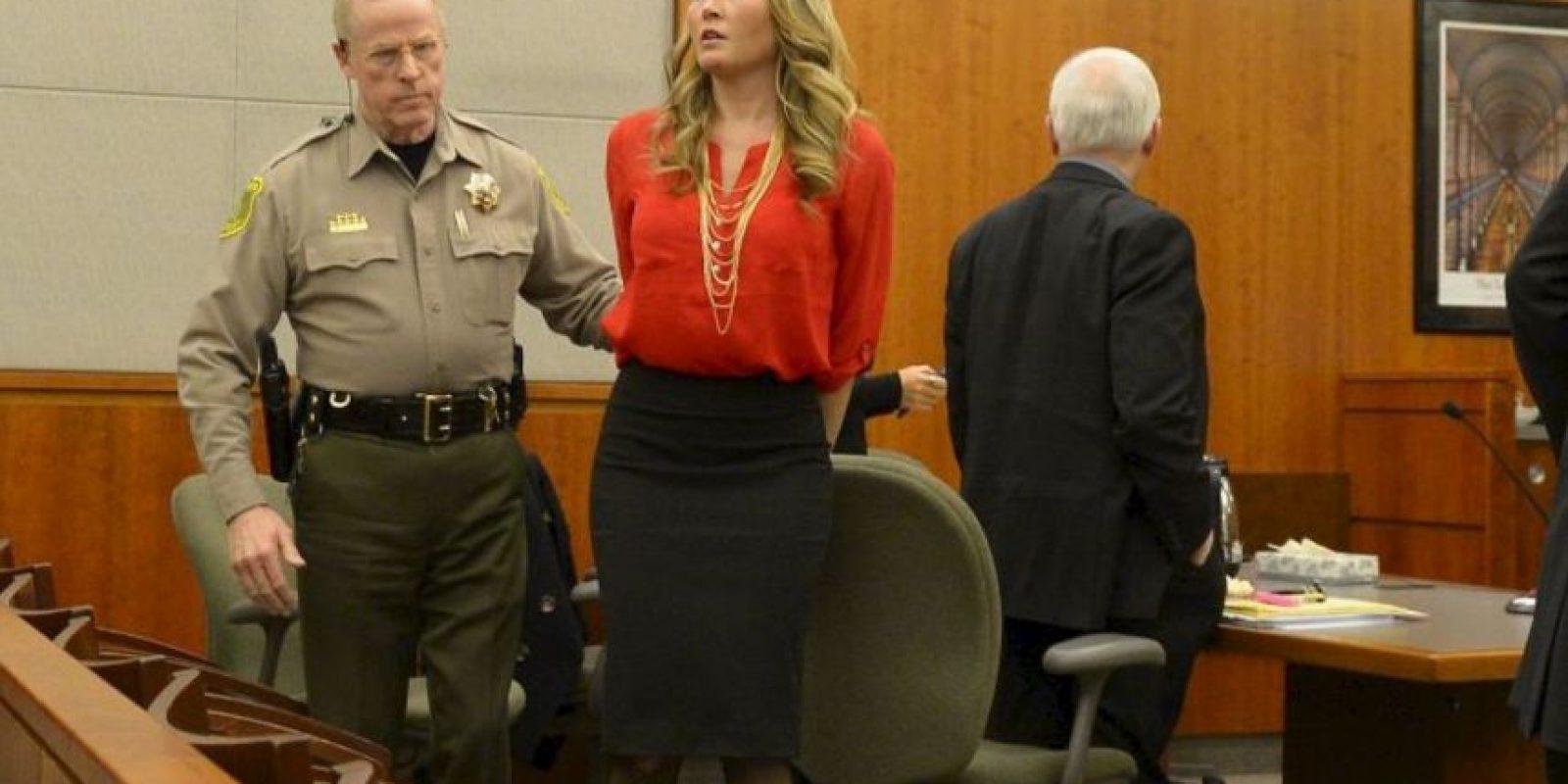 Brianne Altice, fue arrestada por tener sexo con tres de sus alumnos. Foto:AP