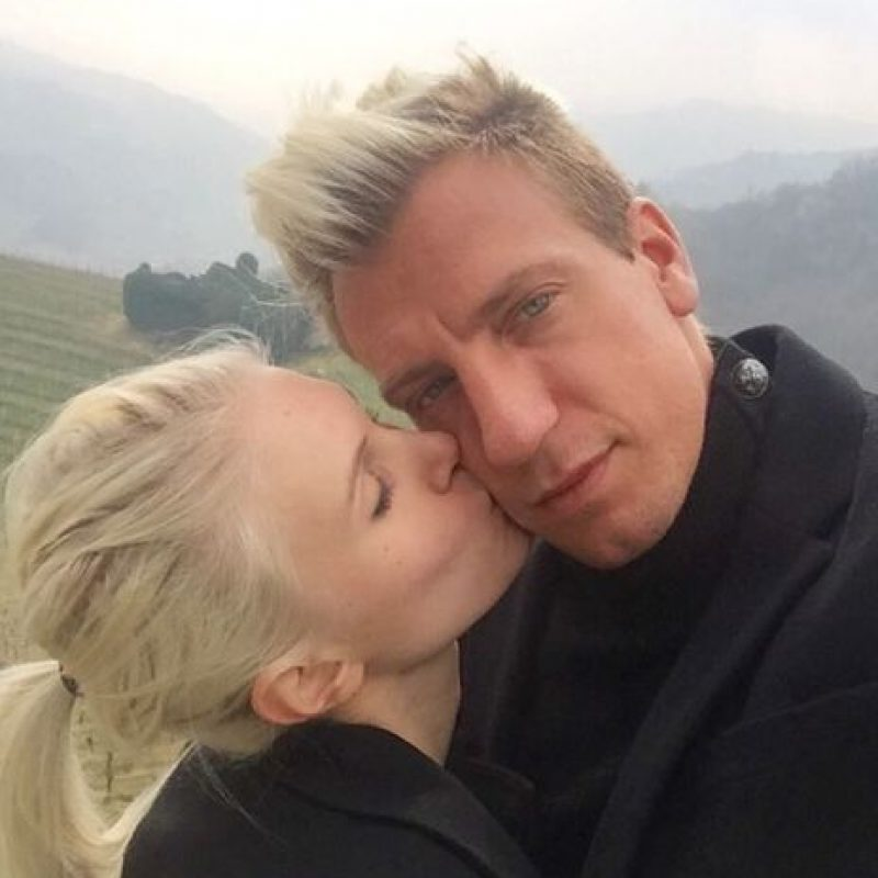 En sus redes se muestran enamorados Foto:Vía instagram.com/danielachristiansson