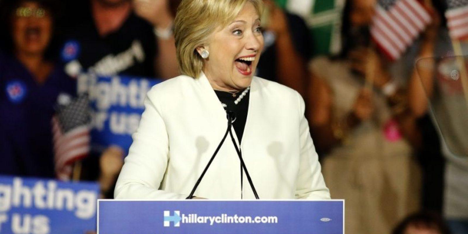 Clinton sigue siendo la gran favorita de la nominación demócrata. Foto:EFE